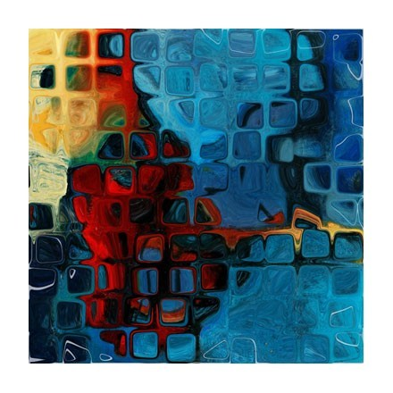 Αφηρημένη τέχνη τετράγωνα