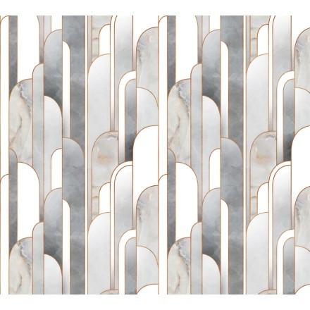 Γκρι & άσπρα σχήματα