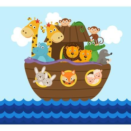 Ζωάκια Σε Βάρκα