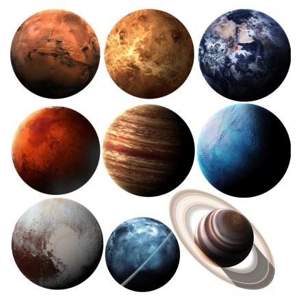 Πλανήτες στο διάστημα