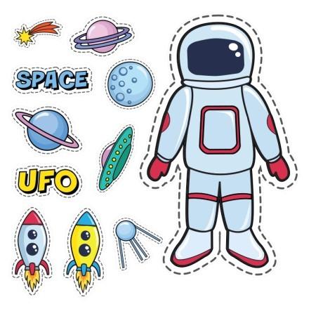 Αστροναύτης στο διάστημα