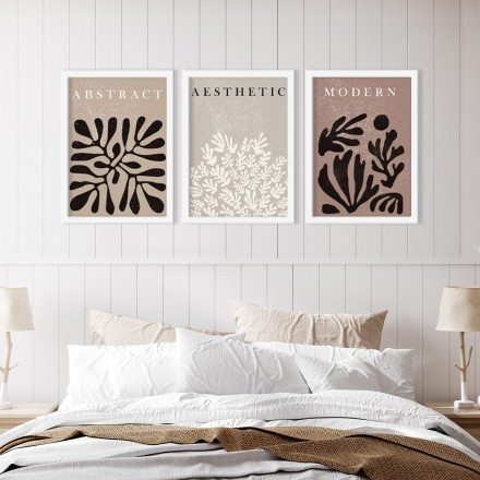 Abstract modern aesthetic
