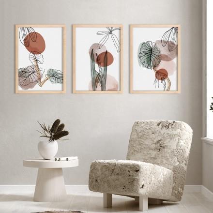 Leaves watercolor gallery