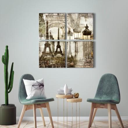 Μοτίβο με Πύργο του Άιφελ
