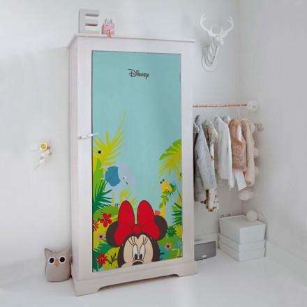 Minnie και λουλούδια
