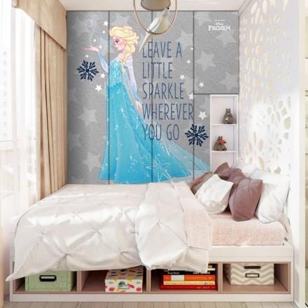 Leave a little sparkle wherever you go, Frozen