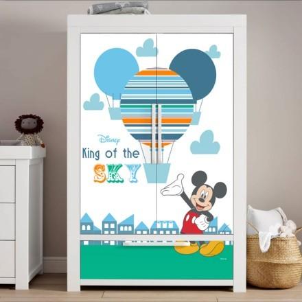 Ο βασιλιάς του ουρανού, Mickey Mouse