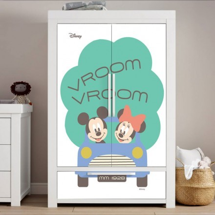 Vroom Vroom, Minnie & Mickey Mouse