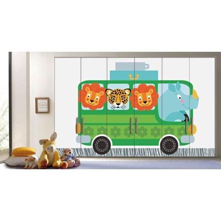 Λεωφορείο Με Ζώα