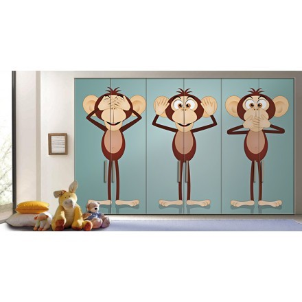 Αστείοι πίθηκοι