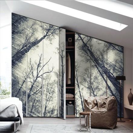 Μάυρα δέντρα, σκούρο φόντο