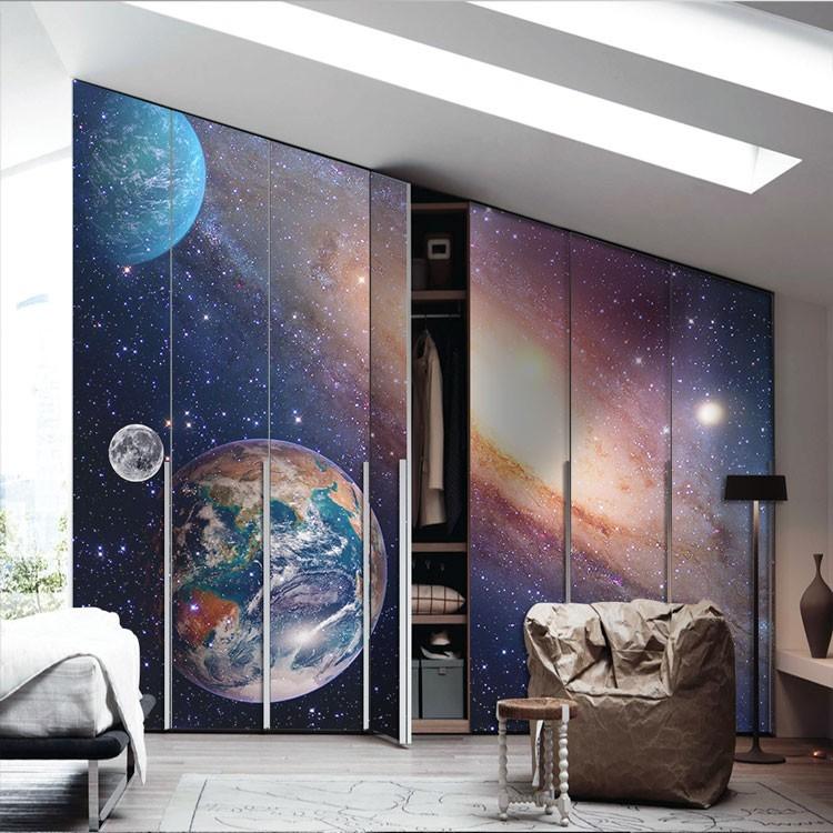 Αυτοκόλλητο Ντουλάπας Ηλιακό σύστημα