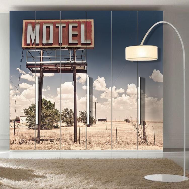 Αυτοκόλλητο Ντουλάπας Πινακίδα μοτέλ, Αριζόνα