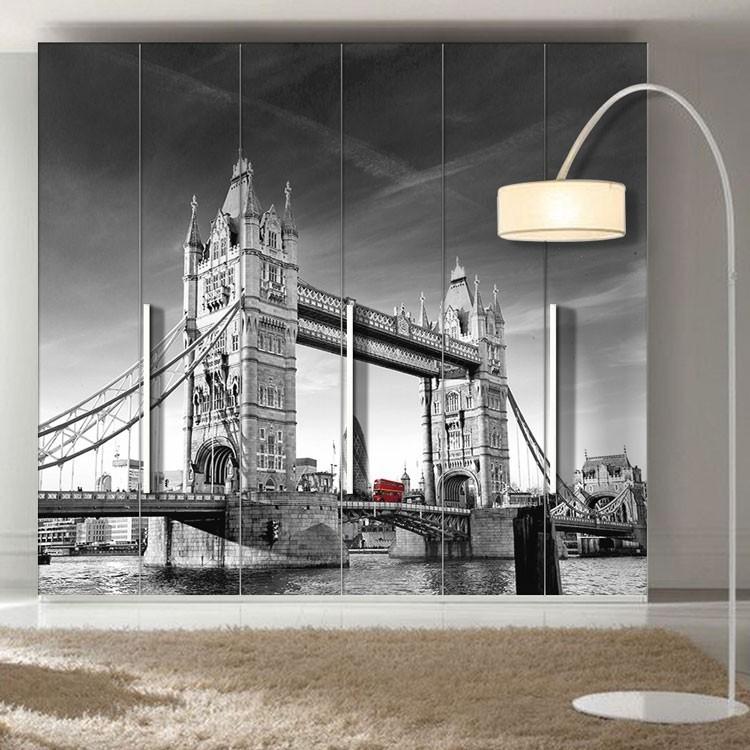 Αυτοκόλλητο Ντουλάπας Γέφυρα του Λονδίνου