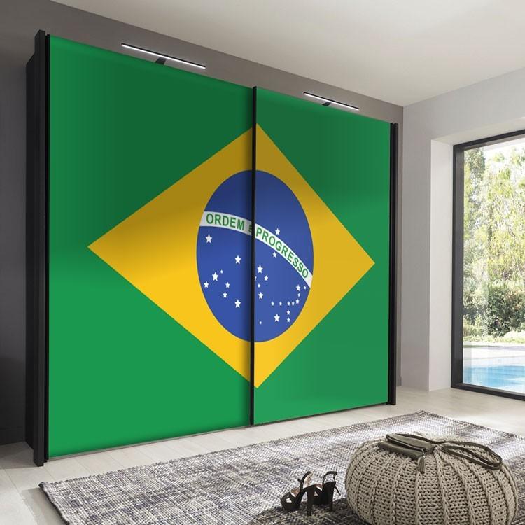 Αυτοκόλλητο Ντουλάπας Βραζιλία