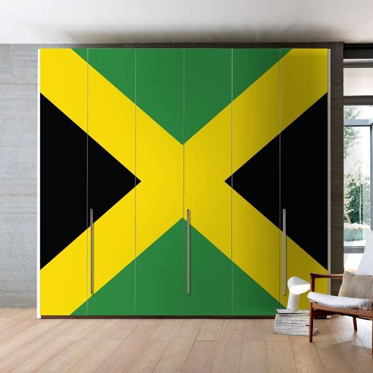 Αυτοκόλλητο Ντουλάπας Τζαμάικα