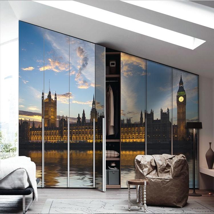 Αυτοκόλλητο Ντουλάπας Τα κτίρια του κοινοβουλίου, Λονδίνο