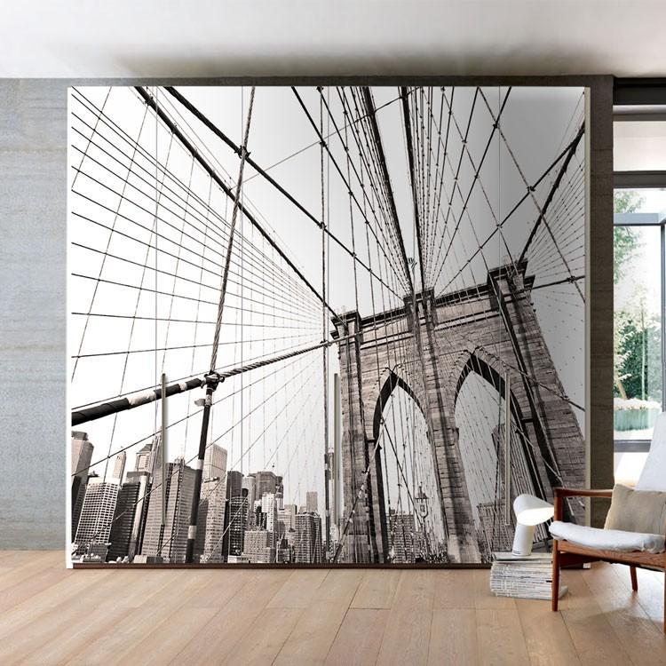 Αυτοκόλλητο Ντουλάπας Γέφυρα του Μπρούκλιν, Νέα Υόρκη