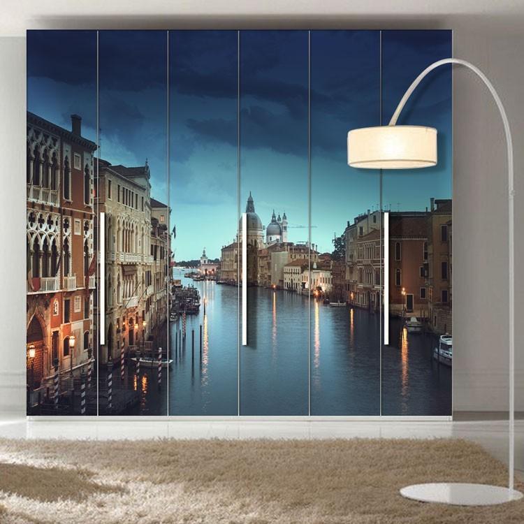 Αυτοκόλλητο Ντουλάπας Μεγάλο Κανάλι της Βενετίας, Ιταλία