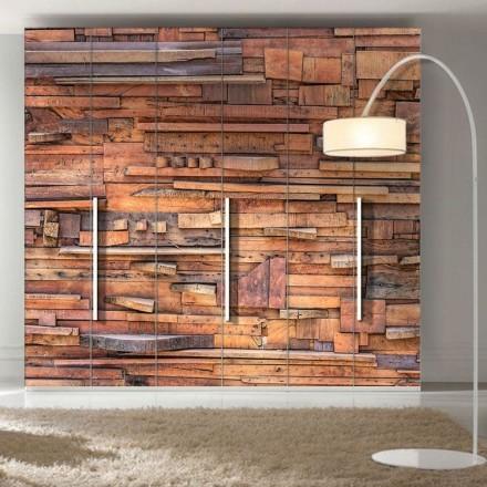 Ξύλινος τοίχος