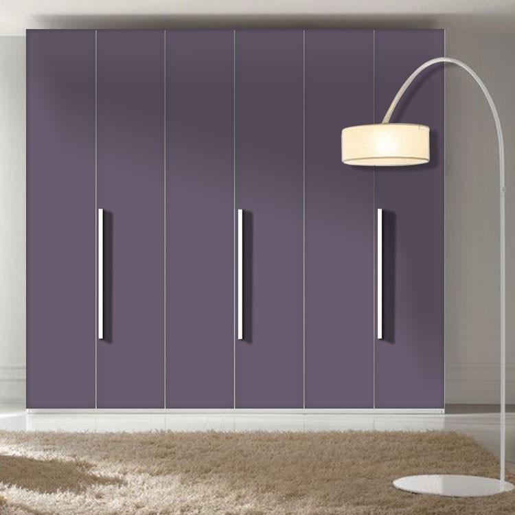 Αυτοκόλλητο Ντουλάπας Bishop-Purple