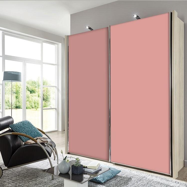 Αυτοκόλλητο Ντουλάπας Dalhia-Pink