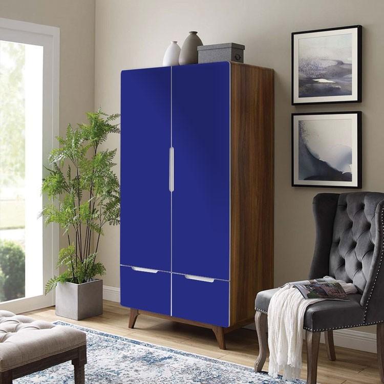 Αυτοκόλλητο Ντουλάπας Electric-Blue