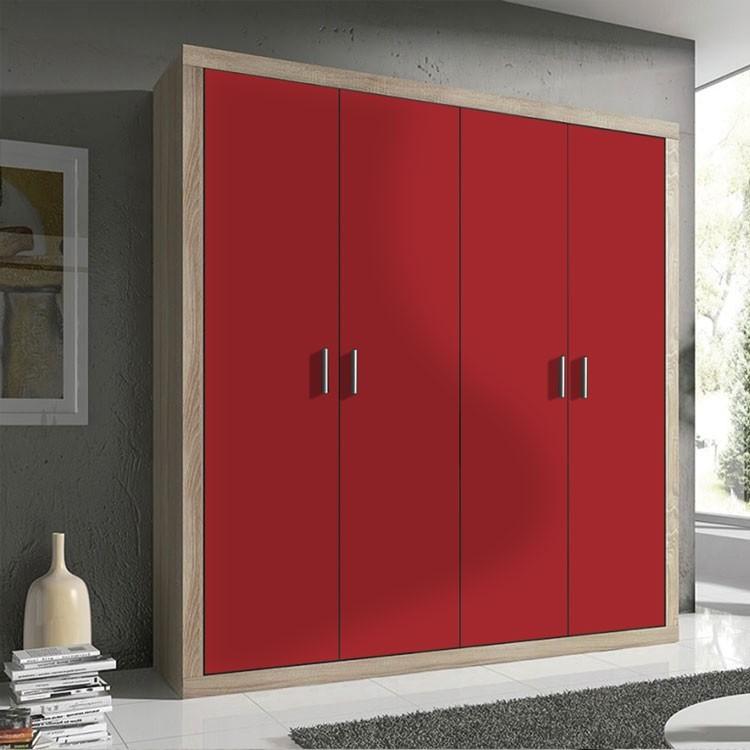 Αυτοκόλλητο Ντουλάπας Medium-Red