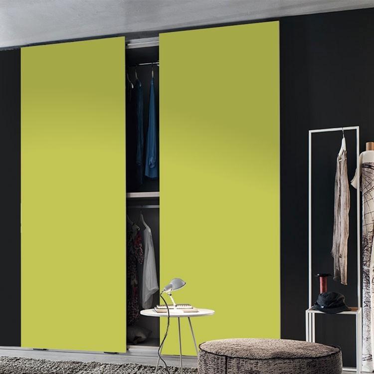 Αυτοκόλλητο Ντουλάπας Yellow-Green