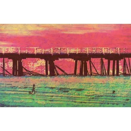 Γέφυρα στο ηλιοβασίλεμα