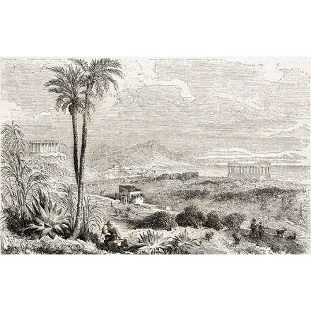 Η κοιλάδα των ναών στη Σικελία.