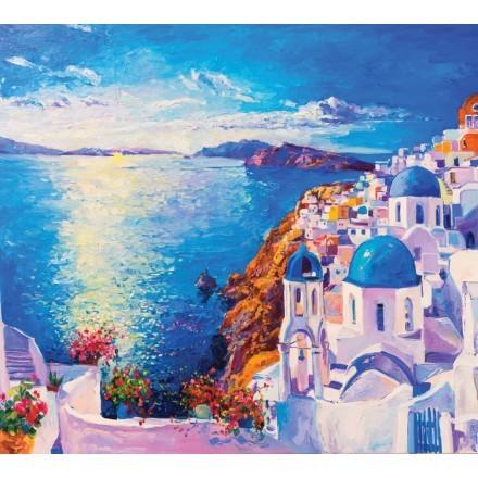 Ελαιογραφία, Ελληνικό νησί