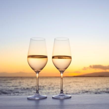 Κρασί, Ηλιοβασίλεμα και Θάλασσα