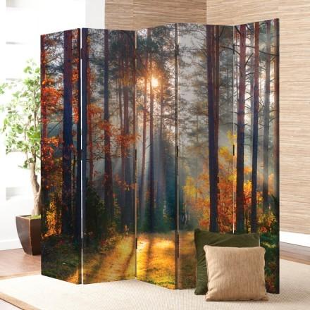Ηλιοβασίλεμα στο Δάσος