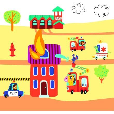 Ζωάκια Πυροσβέστες