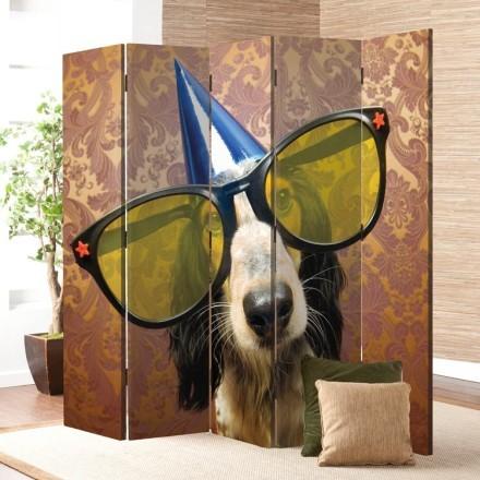 Σκύλος έτοιμος για πάρτι