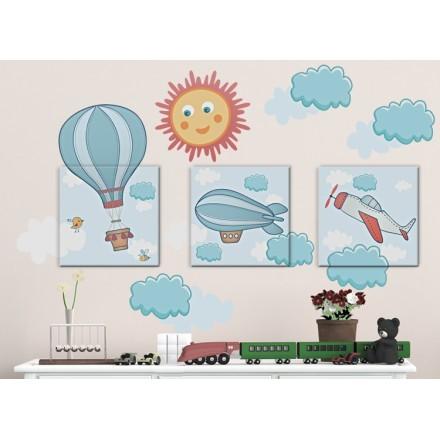 Αερόστατα στα σύννεφα