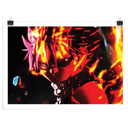 Natsu's etherion dragon force - Fairy Tail
