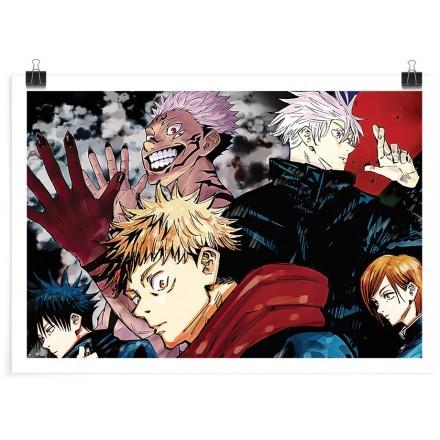 Satoru and his friends - Jujutsu Kaisen