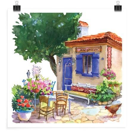Παραδοσιακό μικρό σπίτι