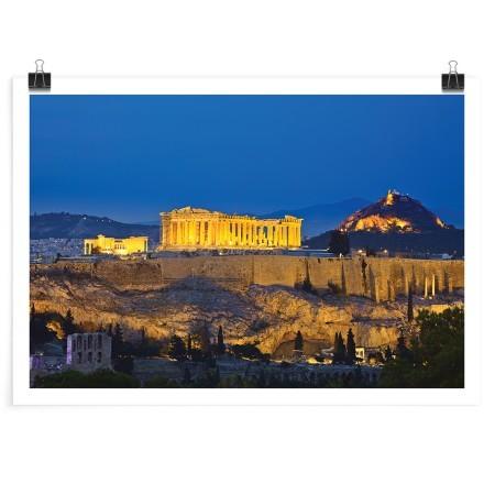 Νύχτα στην Αθήνα