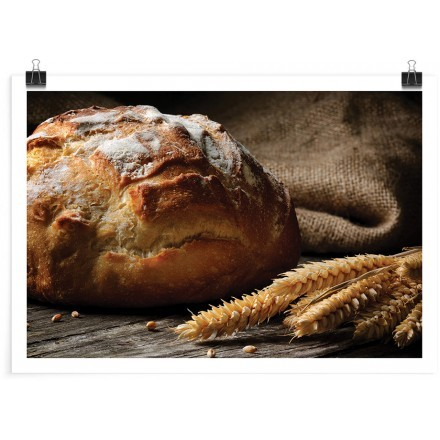Ζυμωτό καρβέλι ψωμί