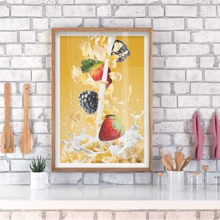 Δημητριακά με φρούτα