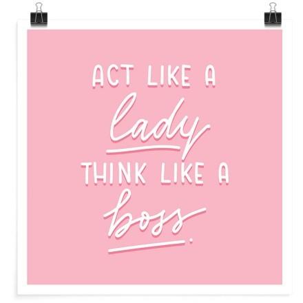 Φέρσου σαν κυρία, σκέψου σαν αφεντικό!