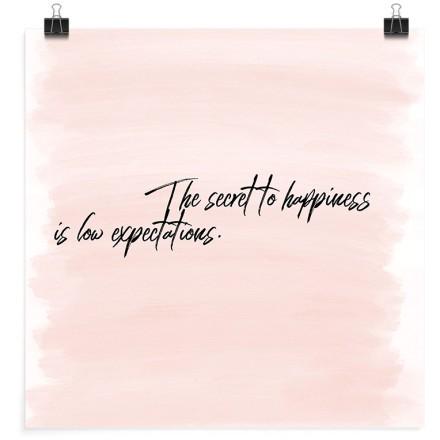 Το μυστικό της ευτυχίας είναι οι μικρές προσδοκίες