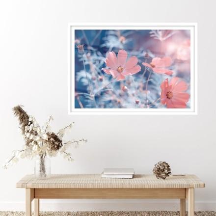 Ροζ λουλουδάκια