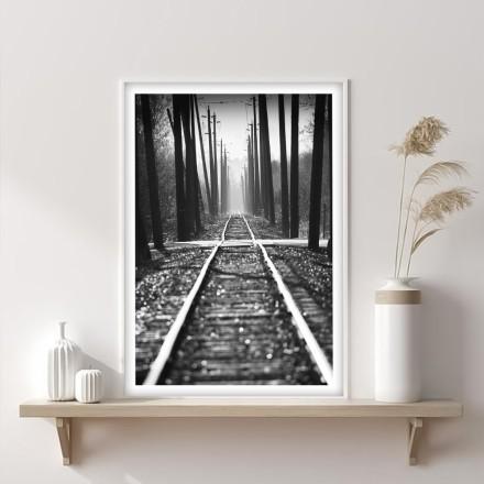 Παλιές γραμμές του τρένου