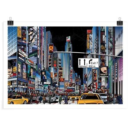 Νέα Υόρκη τη νύχτα