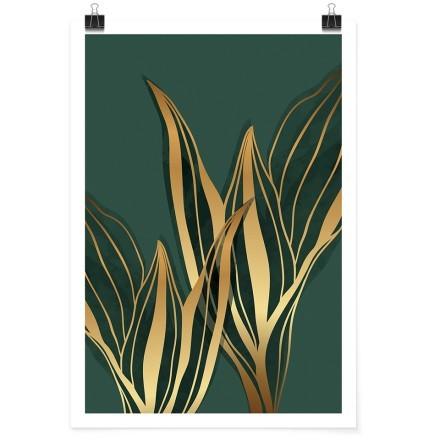 Χρυσά φύλλα φοίνικα
