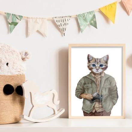 Κύριος γάτος φωτογράφος